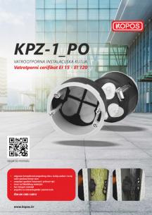 KPZ-1_PO Vatrootporna instalacijska kutija