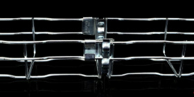 Žičane kabelske police s integriranim spojnicama