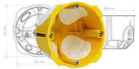 KPL 64-45/LD - kutija sa membranskim ulazima