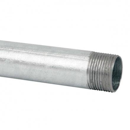 6042 N XX - ocelová trubka závitová bez povrchové úpravy (ČSN)