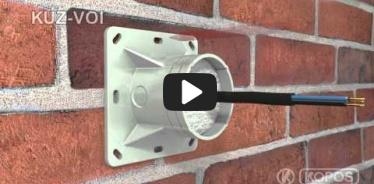 Embedded thumbnail for Upute za instalaciju univerzalne kutije KUZ-VOI u toplinsku izolaciju s poklopcem koji se otvara