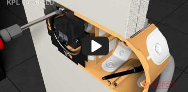 Embedded thumbnail for Upute za instalaciju kutija za šuplji zid KPL 64-50/2LD