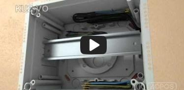 Embedded thumbnail for Upute za instalaciju univerzalne kutije KUZ-VO s poklopcem koji se otvara
