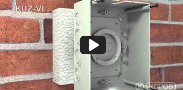 Embedded thumbnail for Upute za instalaciju univerzalne kutije KUZ-VI u toplinsku izolaciju s poklopcem