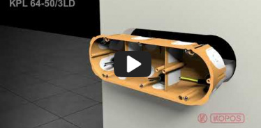 Embedded thumbnail for Upute za instalaciju kutija za šuplji zid KPL 64-50/3LD