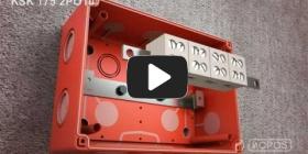 Embedded thumbnail for Upute za instalaciju kutije s održanom funkcionalnošću u vatri KSK 175 PO