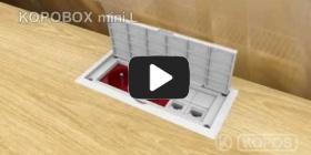 Embedded thumbnail for Upute za instalaciju višenamjenske elektroinstalacijske kutije KOPOBOX mini L