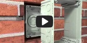 Embedded thumbnail for Upute za instalaciju univerzalne kutije KUZ-V s poklopcem